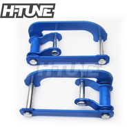 H TUNE 4x4 Accesorios Rear Leaf Spring Extended 2 Height Double G Shackle Lift Kit Fits RANGER 2012+ / BT60 2012+