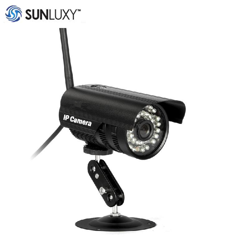 SUNLUXY SP013 WiFi IP Camera 720P HD Waterproof Wireless Network IR Night Vision Alarm CCTV Bullet Camera for Outside Security outdoor 720p ip camera hd wireless wifi array ir night vision bullet onvif waterproof cctv security ip 1mp network web camera