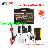 16000mAh Car Jump Starter New Capacity Portable 4USB Phone Power Bank Compass Laptop Cigarette Lighter Socket