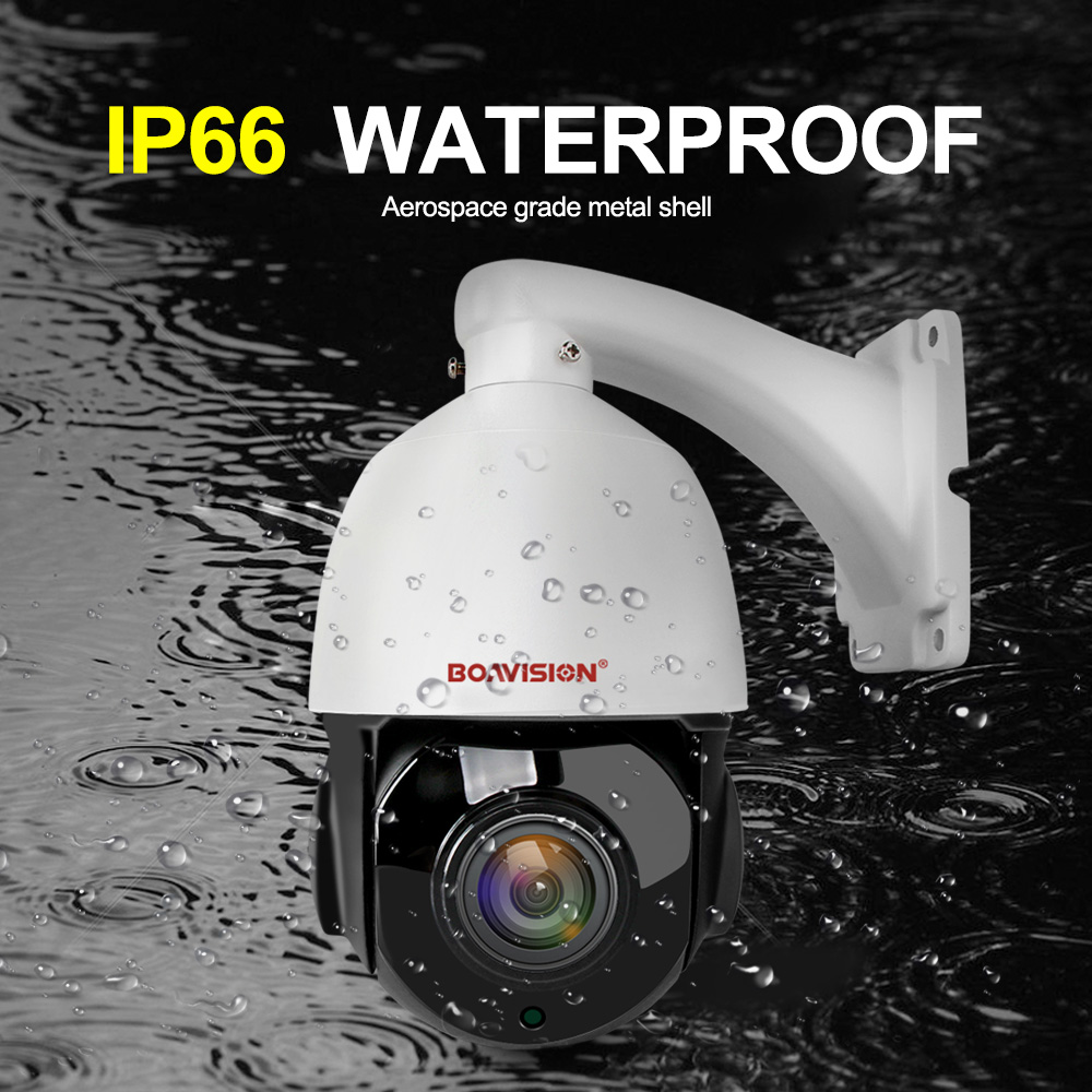 Image 2 - 4 Inch Mini 5MP IP PTZ Camera Network ONVIF H.265 Ultra HD Speed Dome 30X Zoom PTZ Speed Dome IP Camera CCTV 50m IR View 48V POE-in Surveillance Cameras from Security & Protection