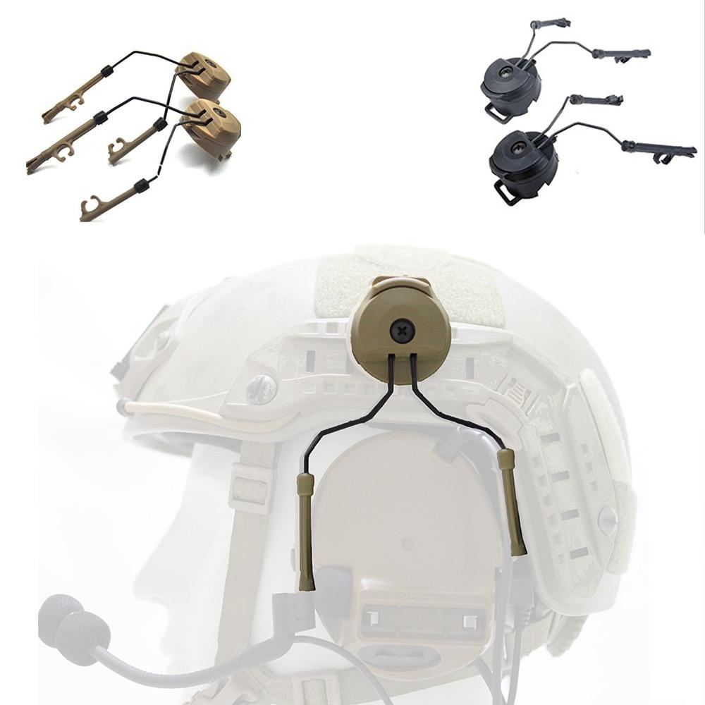 Headphone Holder Headset Airframe Helmet Rail Adapter Accessories For Comtac I II III IV