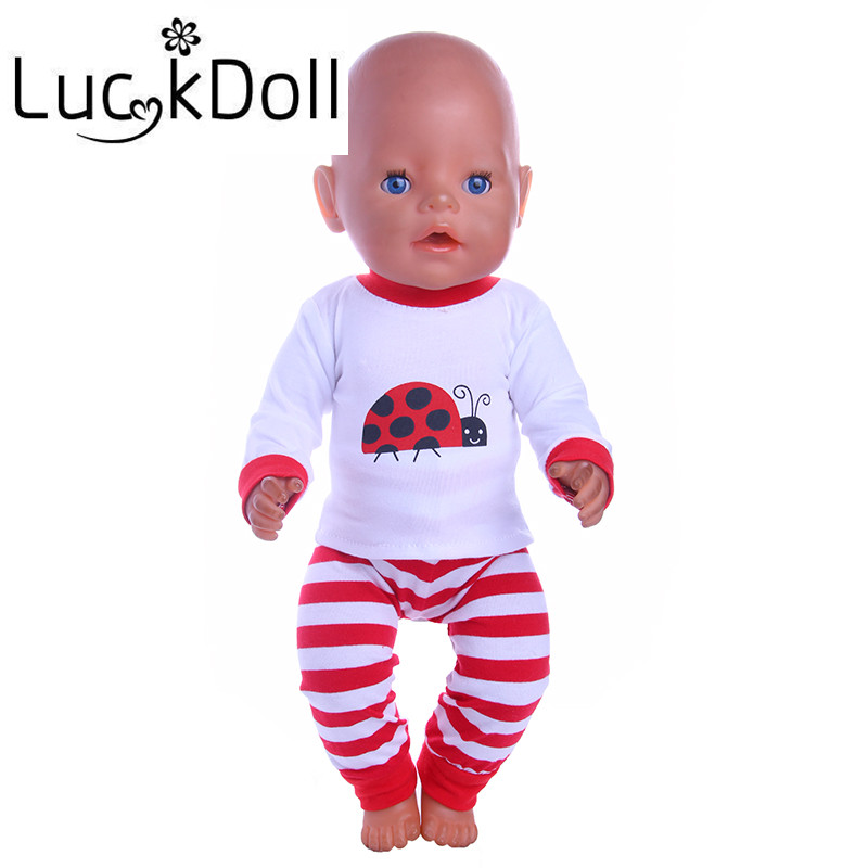 luck doll 43cm baby born zapf clothes Doll accessories pajamas fit 43cm Baby Born zapf, Children best Birthday Gift skin care laikou collagen emulsion whitening oil control shrink pores moisturizing anti wrinkle beauty face care lotion cream
