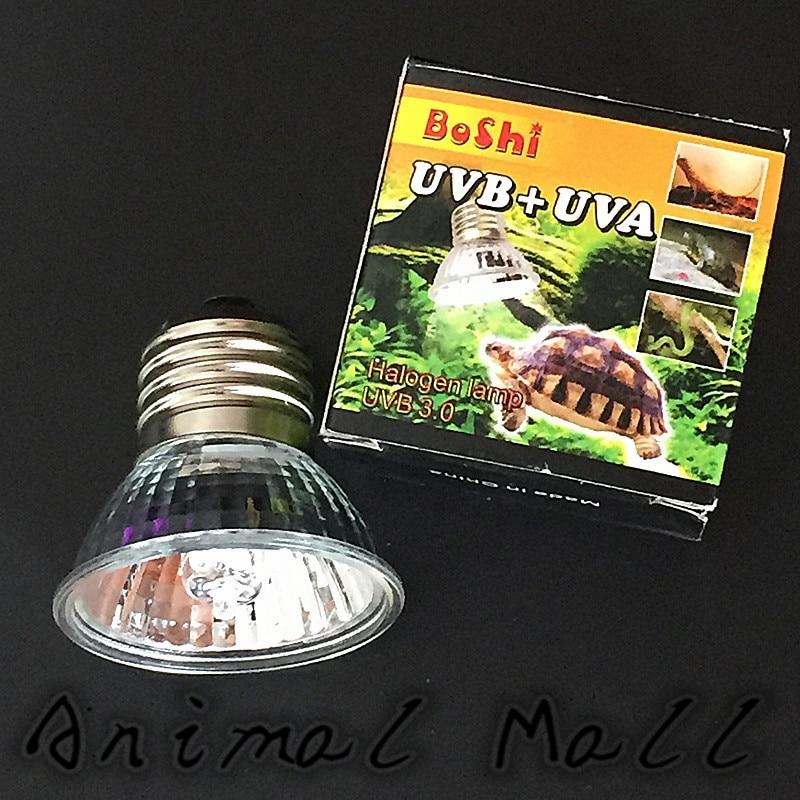 1 Pcs Full Spectrum Uva + Uvb3.0 Sunlamps Basking Pet Reptiles Tortoise Snake Lizard Spider Frog And Other Mammals Pet Light ...