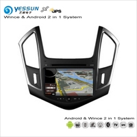 YESSUN For Chevrolet Cruze 2013~2014 Car Android Multimedia Radio CD DVD Player GPS Navi Map Navigation Audio Video Stereo