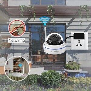 Image 5 - Gadinan WiFi Camera Wireless IP Camera 2MP 1080P 1MP Dome Night Vision Vandalproof Audio Record Max 128G TF Card Slot Yoosee