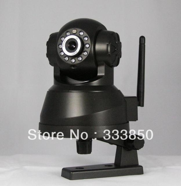 IP Wireless Wired IR Night Vision indoor IP Network Camera Silvery