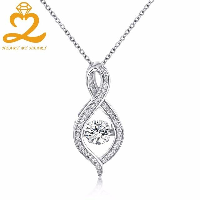 Infinity shape womens pendants necklaces 925 sterling silver infinity shape womens pendants necklaces 925 sterling silver wedding engagement topaz gemstone fine jewelry necklaces aloadofball Images