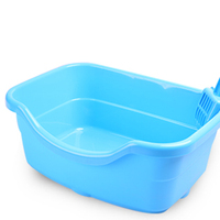 Litter Box Tray Cat Toilet Training Potty Supplies Cats Toilets Small Kedi Tuvaleti Plastic Shovel Wc Gatto Pet Health 80A2304