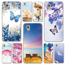 For Alcatel 1 5033D 5033 5033A 5033Y Case Cover Fantasy Design Butterfly Alcatel1 5.0 Love Heart Phone Bags Housing
