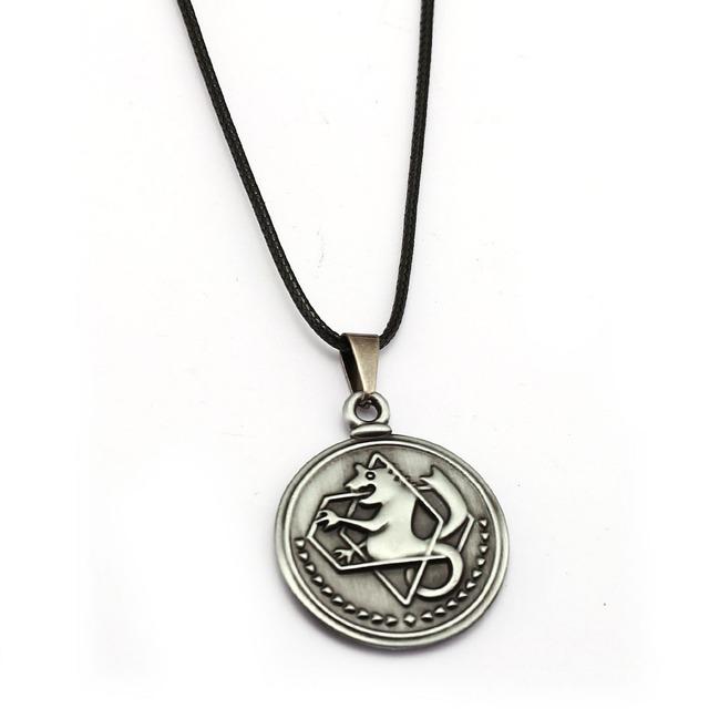 Fullmetal Alchemist Edward Elric Necklace