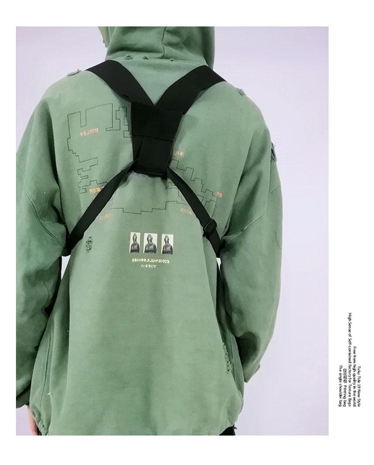 Men's Tactical Shoulder Chest Rig Bag 13