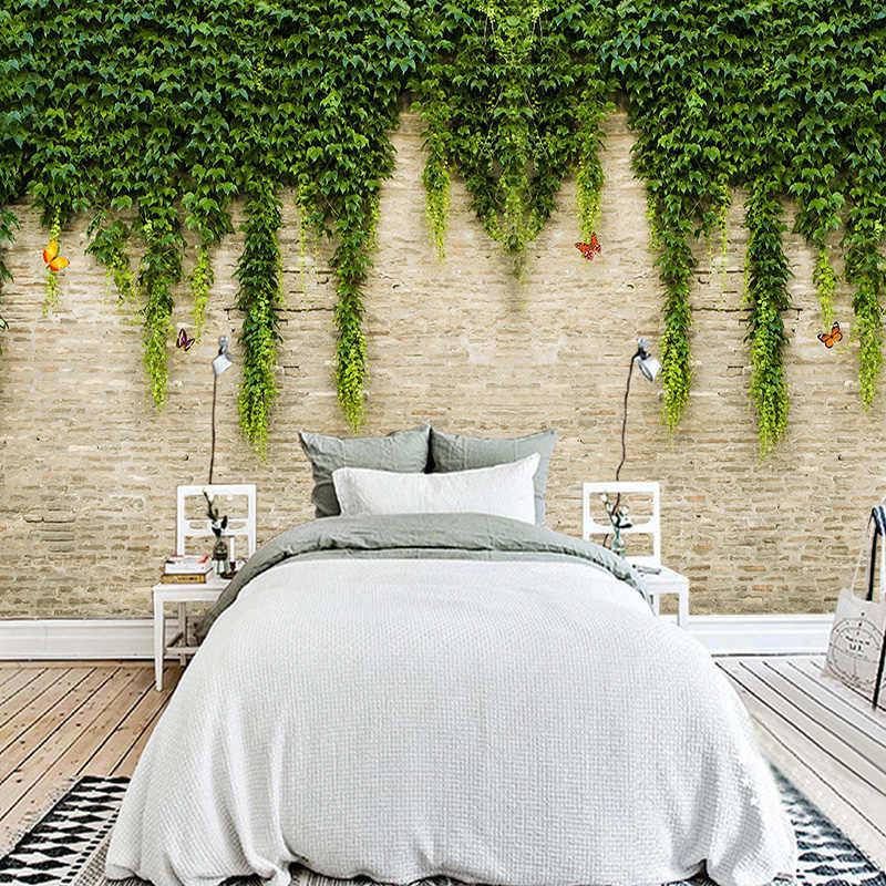 detail feedback questions about custom photo wallpaper 3d stereodetail feedback questions about custom photo wallpaper 3d stereo virginia creeper brick wall painting modern simple living room tv sofa bedroom home decor