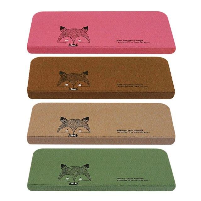 5pcs/set Fox Pattern Stair Carpet Sets Anti Slip Stairs Tread Protector  Mats Soft