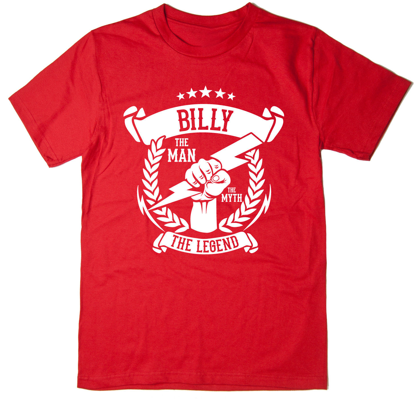 Billy The Man The Myth The Legend T Shirt Christmas gift idea 6 colours New T Shirts Funny Tops Tee New Unisex Funny in T Shirts from Men 39 s Clothing
