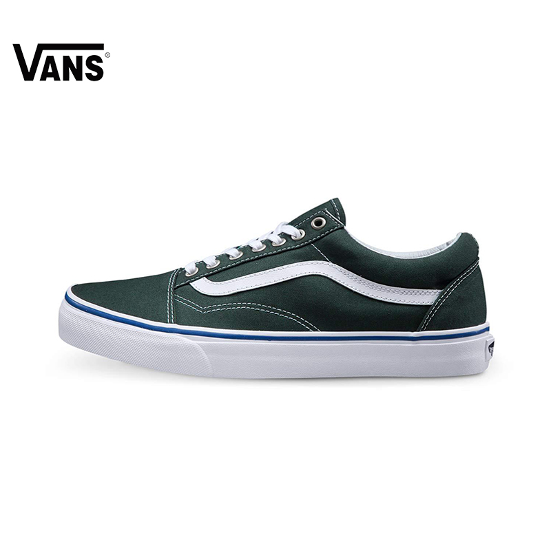 Original New Arrival Vans Men's & Women's Classic Old Skool Low-top Skateboarding Shoes Sport Outdoor Canvas Sneakers original new arrival van classic unisex skateboarding shoes old skool sport outdoor canvas comfortable sneakers vn000d3hw00