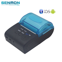 RS232/USB Ports 58mm Mini Wireless Bluetooth Thermal Receipt Printer Support ESC/P0S For IOS/Android Mobile Printer