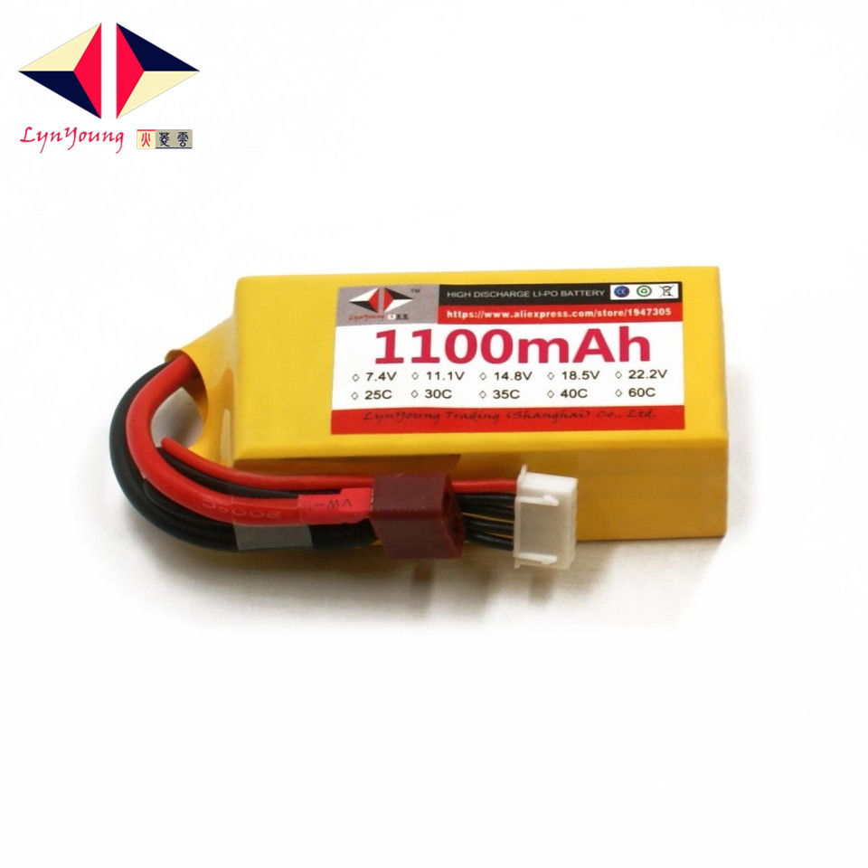 LYNYOUNG 18 5v rc Lipo font b Battery b font 5S 25C 1100mAh for font b