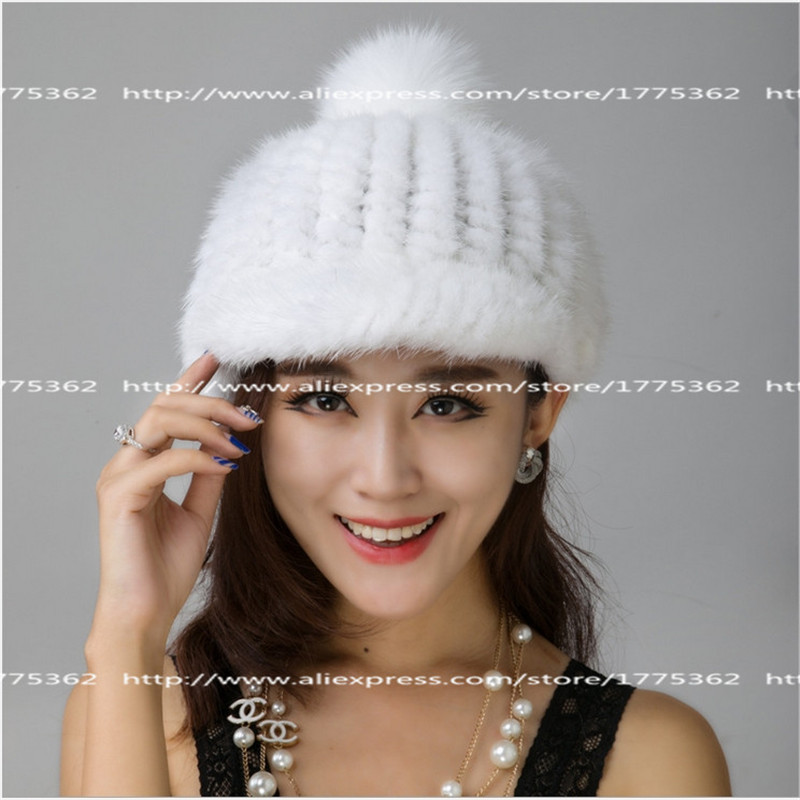 2016 New Fashion Mink Fnitted hat for Famal Autumn and winter Children Warm hat Caps Multiple Colour Solid cap High Quality Hat brand winter hat knitted hats men women scarf caps mask gorras bonnet warm winter beanies for men skullies beanies hat