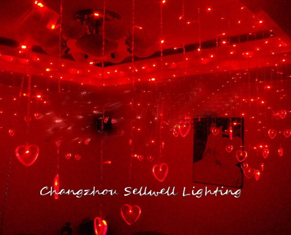 Rushed New Artificial Christmas Tree Great!led Ceiling Decoration Wedding Celebration Product 1*8m Coloured Lamp H242 65cm 18cm 110cm led christmas tree lamp