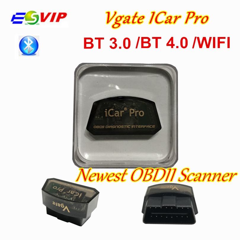 Vgate iCar Pro Bluetooth 4.0/WIFI OBD2 Scanner For Android/IOS Car Diagnostic Tool ELM327 V2.1 iCar Pro Bluetooth/WIFI Scanner
