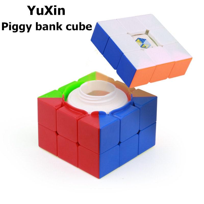 Yuxin Zhisheng Treasure box magic speed cube stickerless puzzle storage cubes surprise cube educational toys for children цены онлайн