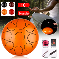 HandPan 5/10 8/9 Scale Steel Drums Set Percussion Tongue Drum with Free Bag + Mallets for Children Music Instrument