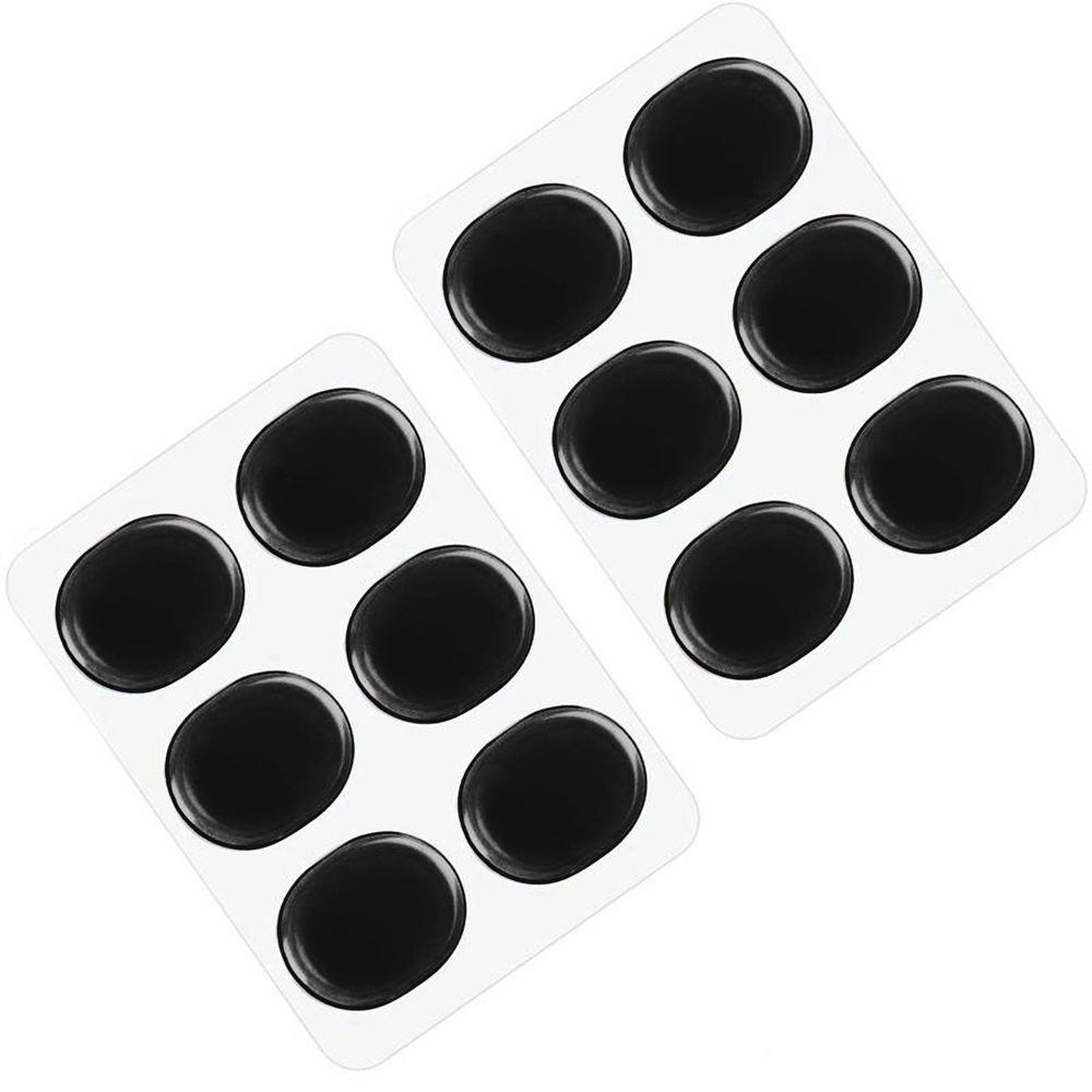 12 pcs Drum Pads  Drums Damper Gel Pads Drum Muffler Tool Set Percussion Instrument Accessorie