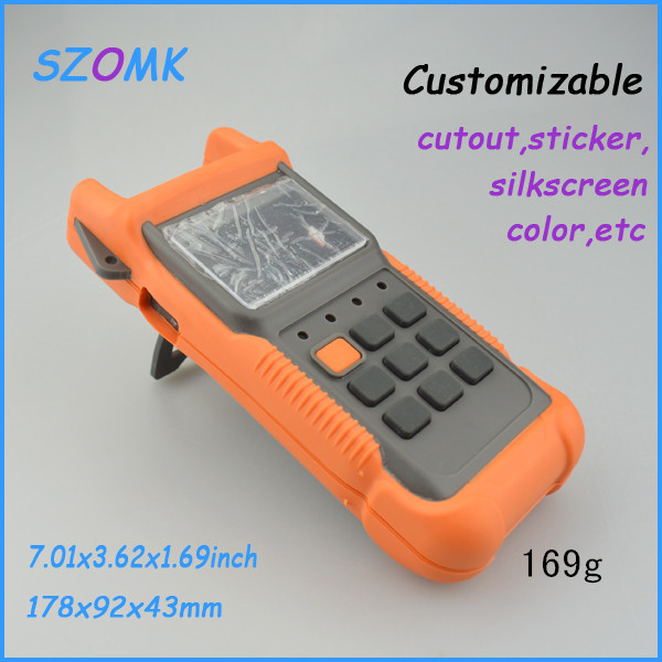 10 pieces a lot plastic box ip54  178*92*43 mm 7.01*3.62*1.69inch electronic / handheld enclosures