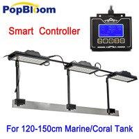 Dimmable Led Aquarium Lights For 150cm Marine Coral Reef SPS/LPS With Smart Fan Sunrise Sunset Aquarium LED Lamp Moonlight