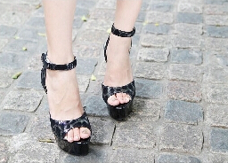 Elegant Princess Style 15cm Black High Heel Shoes Platform Sandals, Pole Dance Shoes, Wedding Shoes, Dress Shoes kids glitter sandals elegant princess dance wedding dance party leather shoes heel student