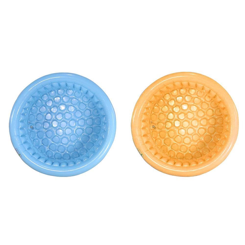 Piscine gonflable de bébé de piscine de l'eau des enfants de forme ronde de COPOZZ et baignoire extérieure portative d'enfants de nouveau-né
