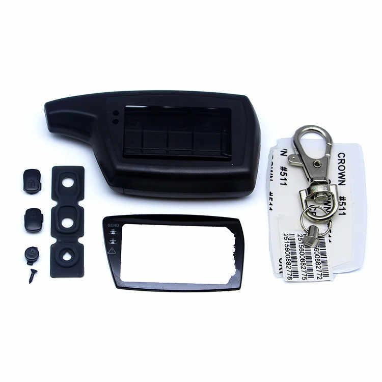 DXL 3000 чехол Брелок для русской версии двухсторонняя Автомобильная сигнализация PANDORA DXL3000 LCD пульт дистанционного управления брелок цепь
