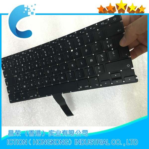 цена на Brand New AZERTY FR French keyboard For MacBook Air 13.3 A1369 A1466 2011-2015 Years