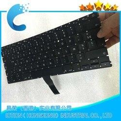 Французская клавиатура AZERTY FR для MacBook Air, 13,3 дюйма, A1369, A1466, 2011-2015 лет