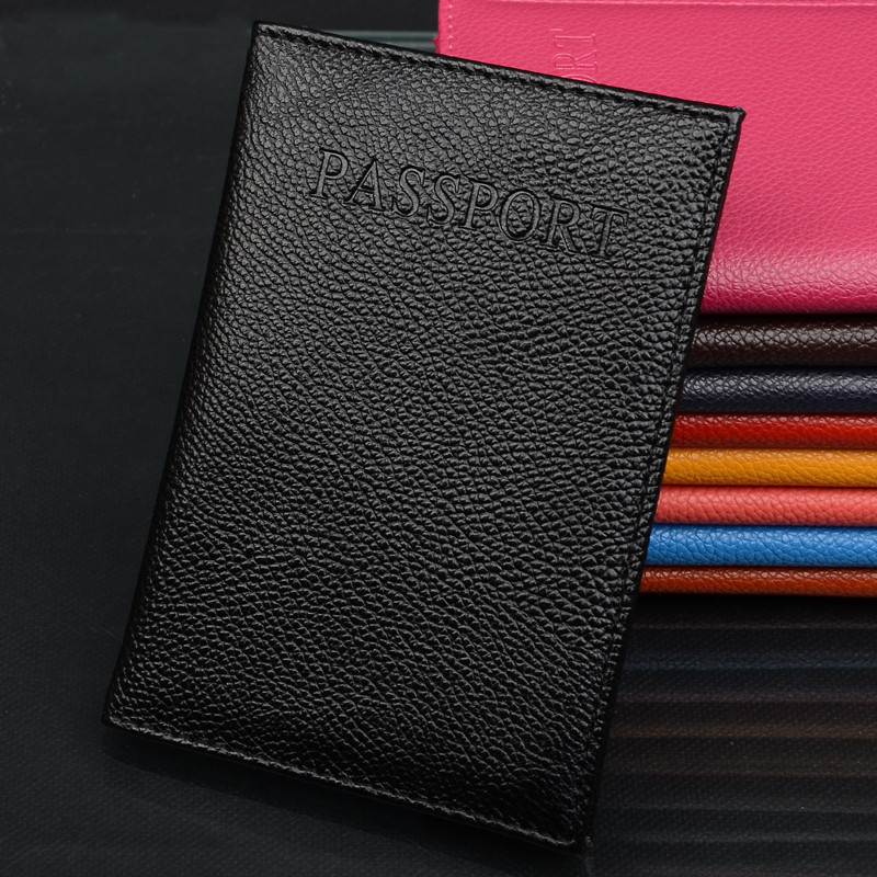 2018 New Travel Passport Holder Cover Case for Women's Men Adventure porta passaporte pasport paspoort High Quality