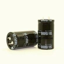 20 шт., 50 в, 15000 мкФ, 15000 мкФ, 50 в, электролитический конденсатор, объем 30x50 мм, новый и оригинальный, лучшее качество