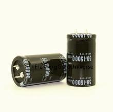משלוח חינם 20PCS 50V 15000UF 15000UF 50V קבל אלקטרוליטי נפח 30X50mm חדש ומקורי הטוב ביותר באיכות