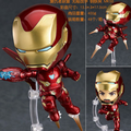 Bonito personaje volador de Iron Man, figura de Anime, juguete, dibujo de cara cambiable, Iron Man, modelo de exhibición, juguetes, regalo de cumpleaños para niños 413