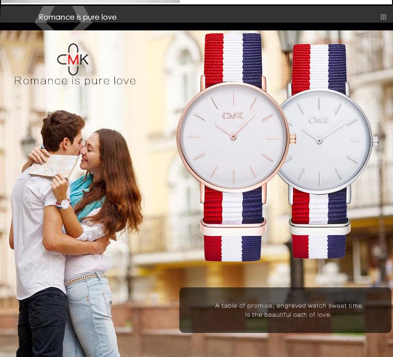 ساعة يد موضة 2018 للرجال والسيدات بالوان عديدة 4