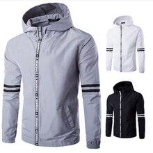 2017 Explosion models jacket men British style 6 colors stand collar erkek mont long sleeve zipper fashion men outwear clothes