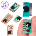 6pcs 6 Kinds Sound Chip Voice Module Music IC  Alarm/Recordable Sound Chip/Dog barking/Chinese Music/Christmas Song For DIY/Toy