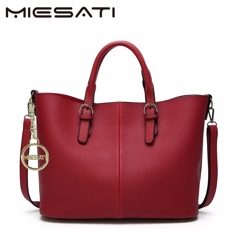 MIESATI Fashion Women Leather Mobile Messenger Handbag PU Leather High Quality Buns Ladies Bag sac a main clutch Handbags Brand цена