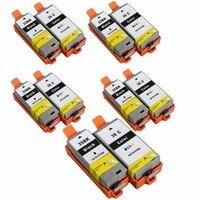 PGI-35 pgi35 PGI-35BK CLI-36 cartuchos a jato de tinta substituição para pixma ip100b ip100 ip100 com bateria mini 260 320
