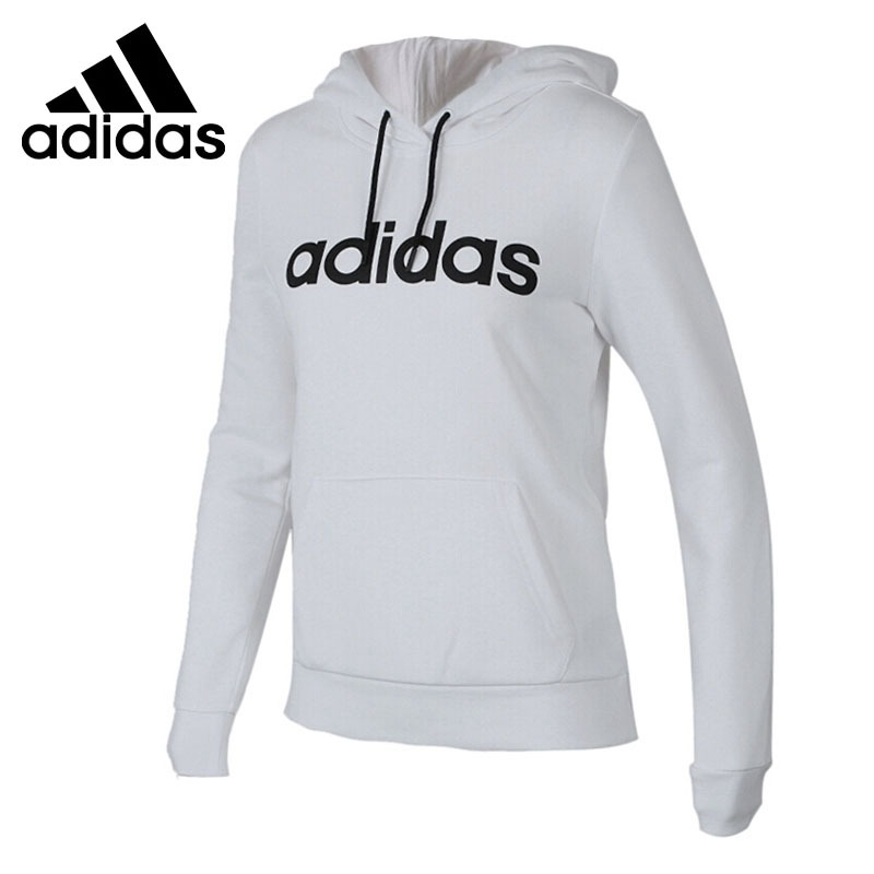 Original New Arrival 2018 Adidas NEO Label CE HOODIE Women's Pullover Hoodies Sportswear side slit fleece drop shoulder pullover hoodie
