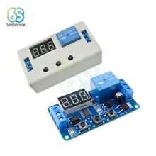 цена на DC 12V 24V Digital LED Display Time Delay Relay Module Board Control Programmable Timer Switch Trigger Cycle Module