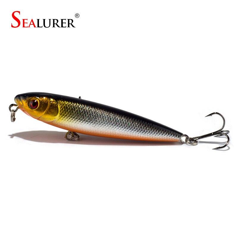 Buy sealurer winter fishing lure 8cm 9g for Fishing lure companies