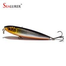 Sealurer treble wobbler available hooks pencil artificial tackle bait lure hard