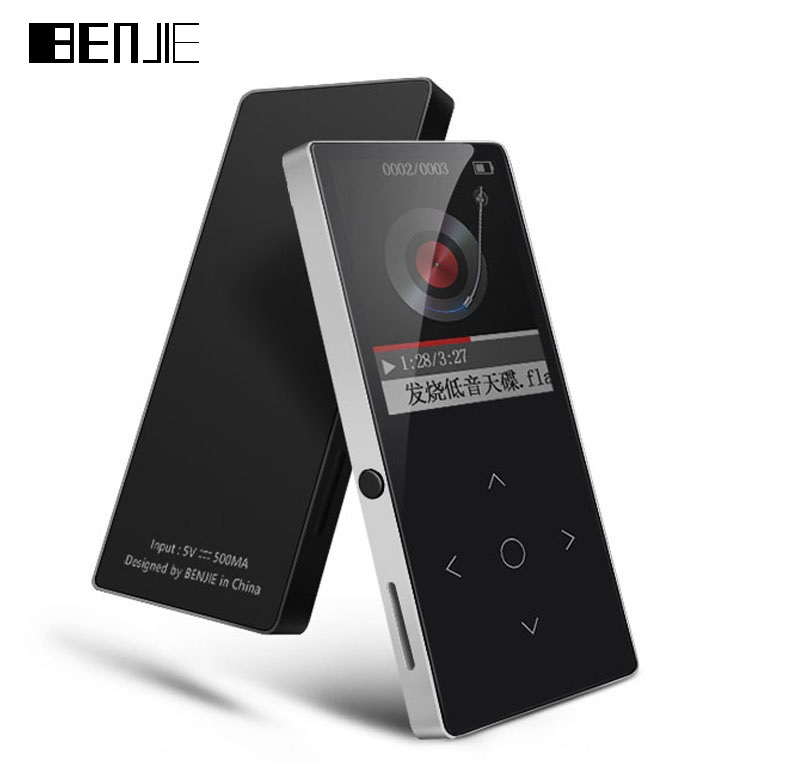 BENJIE 6 mm Thin Bluetooth MP3 Players With Arm Strap 8G Touch Screen Lossless HiFi Music Player with FM E-book Video Earphone (5)