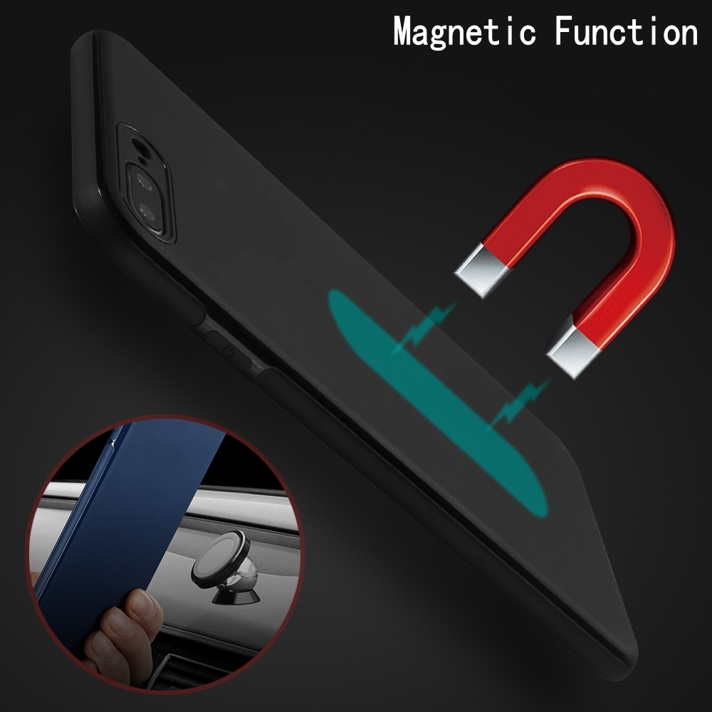SULADA New Magnetic function Case for iPhone 8 8Plus Soft