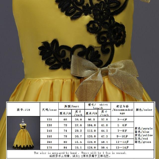 Online-Shop Cinderella Kostüm Lange Prinzessin Kleid Mädchen ...